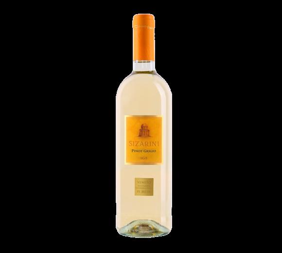 Белое вино Pinot Grigio DOC Veneto Sizarini. Доставка из ресторана алкогольных напитков