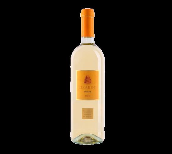 Белое вино Soave DOC Veneto Sizarini. Доставка из ресторана алкогольных напитков