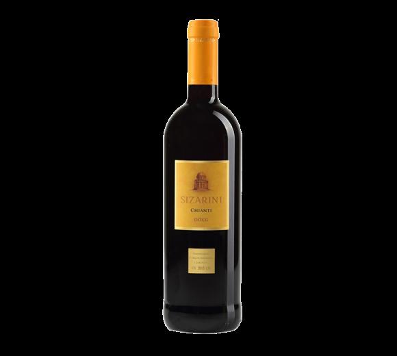 Красное вино Chianti DOCG Toscana Sizarini. Доставка из ресторана алкогольных напитков