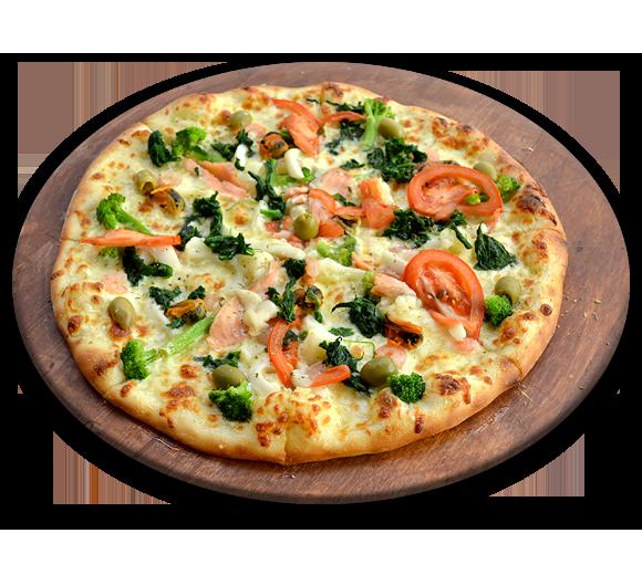 Пицца с морепродуктами морская Фрутти ди Маре. Доставка Буча, Ирпень
