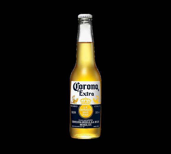 Пиво Corona Extra. Доставка из ресторана алкогольных напитков