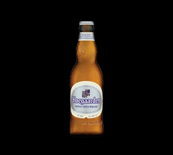 Пиво Hoegaarden. Доставка из ресторана алкогольных напитков