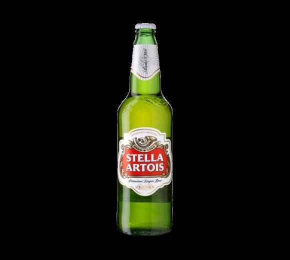 Пиво Stella Artois. Доставка из ресторана алкогольных напитков
