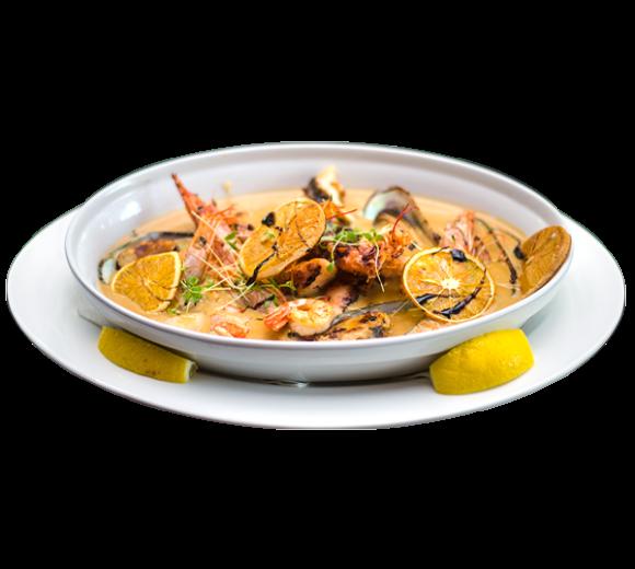 Соте с морепродуктами Фрутти Ди МареСоте с морепродуктами Фрутти Ди Маре