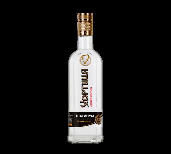 Водка Хортиця. Доставка из ресторана алкогольных напитков